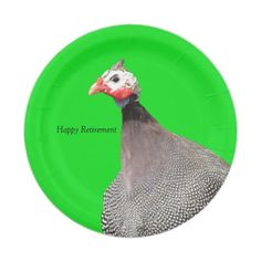 One Hot Chick - Happy Retirement Paper Plate  sc 1 st  Pinterest & Black Patchwork Quilt Block Name Happy Retirement Paper Plate ...