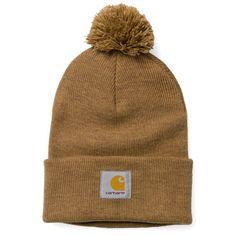 Carhartt WIP Bobble Watch Hat http://shop.carhartt-wip.com:80/es/men/accessories/beanies/I006792/bobble-watch-hat