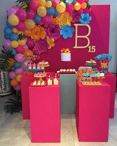 Birthday Goals, Birthday Bash, Birthday Parties, Diy Party Decorations, Birthday Decorations, Baby Shower Decorations, Balloon Garland, Balloons, Fiesta Party