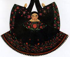Mexican Paper Doll: Sierra de Puebla
