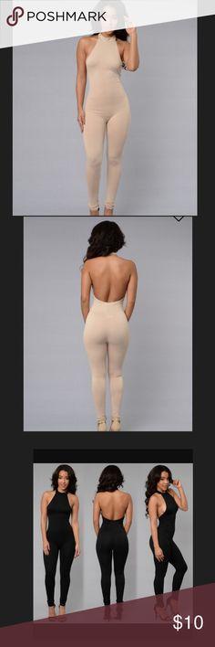 Fashionnova Taupe Romper/Jumpsuit Fashionnova Taupe Romper/Jumpsuit . Never worn. I'm working on being a minimalist so I'm accepting offers 💫 Fashion Nova Other