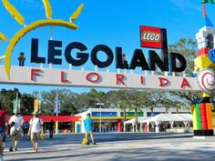 This is one of the coolest theme parks ever! Legoland has a relaxed atmosphere and has many, many lego models there!