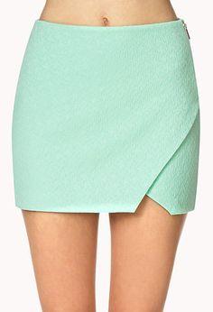 Matelassé Origami Skirt on Wanelo
