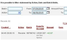 I am getting paid daily at ACX and here is proof of my latest withdrawal. This is not a scam and I love making money online with Ad Click Xpress.I WORK FROM HOME less than 10 minutes and I manage to cover my LOW SALARY INCOME. If you are a PASSIVE INCOME SEEKER, then AdClickXpress (Ad Click Xpress) is the best ONLINE OPPORTUNITY for you. Ask those who are earning extra money every month! Viewing websites is so easy! Get paid DAILY! $10 to start! Ad Click Xpress.This is my daily earnings…