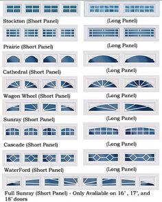 Garage Door Diy Projects Ideas For 2019 Garage Door Window Inserts, Garage Door Windows, Diy Garage Door, Best Garage Doors, Garage Door Styles, Garage Door Makeover, Garage Door Design, Garage Door Repair, Diy Door