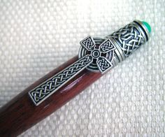 Pen Ball point pen Celtic Turned Pen Custom pen by onestreasures