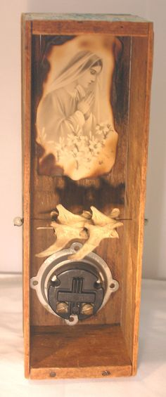 Reliquary I   Assemblage Art Box