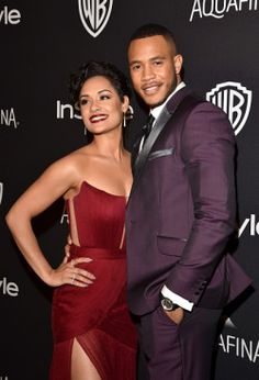 Mar 2015. Empire co-stars Grace Gealey, Trai Byers reportedly dating.