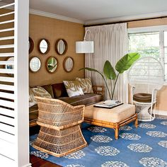 Pop of Color - Our 60 Prettiest Island Rooms - Coastal Living