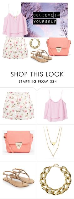 """believe in yourself"" by vera-almazova on Polyvore featuring мода, RED Valentino, MANGO, Boohoo, Accessorize и Kenneth Jay Lane"