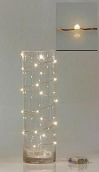 even look pretty on the outside of a vase. Wired Fairy Lights & DIY Wedding Company More The post even look pretty on the outside of a vase. Christmas Lights, Christmas Crafts, Xmas, Christmas Vases, Christmas Centerpieces, White Christmas Decorations, Christmas Ideas, Christmas Pumpkins, Christmas Bedroom