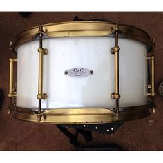 this drum is currently in the zone. 7x14 MPM with that #realbrass plated hardware. @gooddanny is taking it to the #echolab for some sound capturing.....
