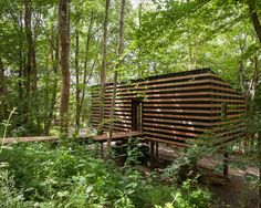 Invisible Studio - To find a space for getting down to work, Invisible Studio decided to take matters into their own hands and build an office near Bath in the UK. Th...