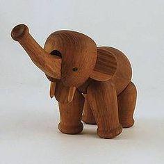 Kay Bojesen teak elephant