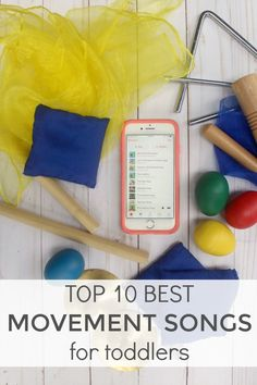 Top 10 best movement songs for toddlers & preschoolers — The Organized Mom Life - - We are the Dinosaurs by The Laurie Berkner Band: This song encourages kids to march around the room like big, hungry dinosaurs. They also stop to eat. Movement Songs For Preschool, Preschool Music, Movement Activities, Art Therapy Activities, Music Activities, Toddler Preschool, Toddler Activities, Leadership Activities, Music Games