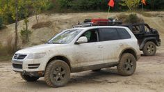 Offroad Trip Sporting Alex's lift kit (Video & Pictures) - Club Touareg Forums