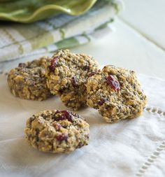 Breakfast Cookies @ Rawmazing.com  A great grab-and-go breakfast option.  Yum!