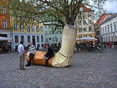 A sculpture in Copenhagen, Denmark