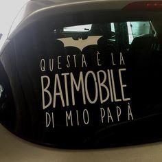 #Batman #car #igerstorino
