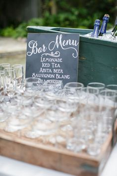 A Simple Co-ed Baby Shower from Greer G. + Joel Catering Read more - http://www.stylemepretty.com/living/2013/08/21/a-simple-co-ed-baby-shower-from-greer-g-joel-catering/