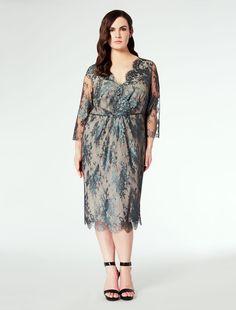 Marina Rinaldi DELICATO oil: Precious lace dress.