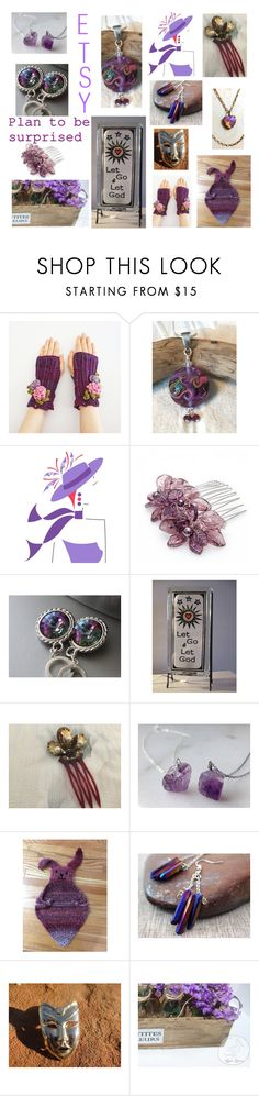 """""""ETSY Spring Surprises"""" by glowblocks ❤ liked on Polyvore featuring Masquerade"""