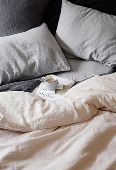 Luxurious European flax linen sheets, duvet covers, pillowcases, throws, robes and more. Our linen is pre-washed for softness and is available in a range of CULTIVER colors. Linen Sheets, Linen Bedding, White Bedding, Bedding Sets, Bedroom Linens, Cotton Bedding, Cream Bed Sheets, Sheets Bedding, White Linens