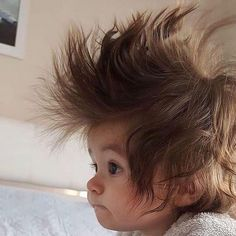 Awww Really bad Hair Day Funny Babies, Funny Kids, Cute Kids, Cute Babies, Precious Children, Beautiful Children, Beautiful Babies, Cute Little Baby, Cute Baby Girl
