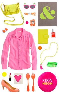 Our Favorite thing at Market was NEON!!! Can't wait to get it in this Summer.