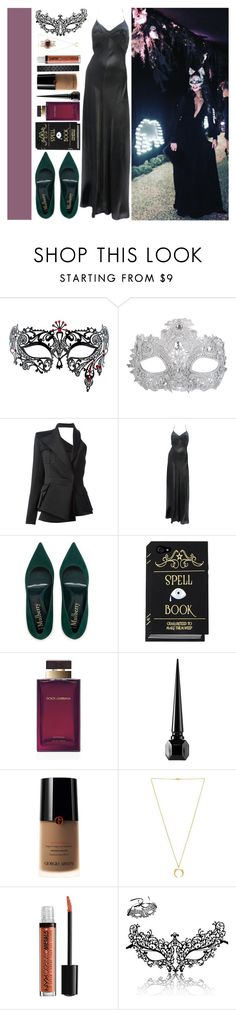 """""""With Sophia Smith"""" by angelbrubisc ❤ liked on Polyvore featuring Masquerade, Balmain, Dolce&Gabbana, Gucci, Christian Louboutin, Armani Beauty, Torchlight and NYX"""