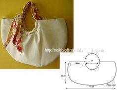 O objectivo desta publicação é facilitar o corte e costura desta bolsa de senhora. Esta bolsa pode ser feita em tecido ou outro material de que goste.