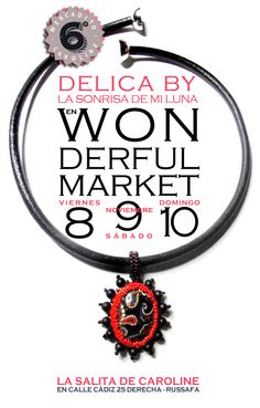 Delica by la sonrisa de mi luna en Wonderful market.