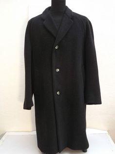 Rare c1950s Vintage T.Nicholson & Son, Penrith Gentlemen s  Wool Overcoat
