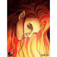 Maedhros by DebbieD. ART