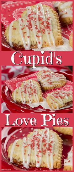 These heartfelt hand pies are perfect for Valentine's Day. They're stuffed with chocolate hazelnut and strawberry jelly, so you know they're going to love them!