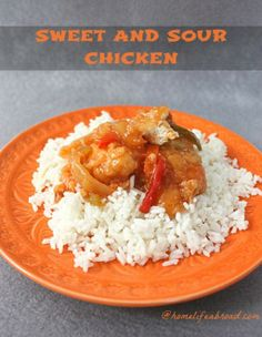 Crispy Sweet and Sour Chicken .com
