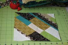 blocks from scraps - this would be fun with all of my Christmas scraps