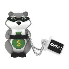 Clé USB Emtec 8 Go raton laveur 2.0