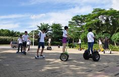 Electric kinds of Self Balance Scooters.