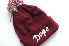 Dope Hat beanie swag cool hipster rap hip hop music chart unisex one size h005