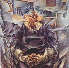 Volumi Orizzontali.Boccioni 1912