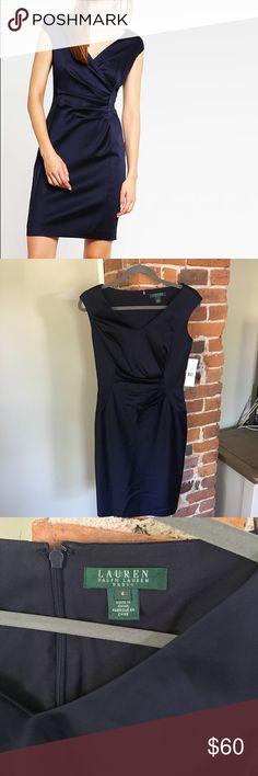 b50fbb1dffb NWT Lauren Ralph Lauren Deep Sapphire Navy Dress 4 Lauren Ralph Lauren Deep  Sapphire Navy Dress