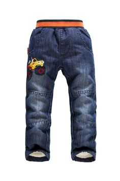 Find More Pants Information about Retails 2014 NEW KK Rabbit brand kids jeans thick winter warm cashmere children pants boys/girls winter  jeans 3 7 y,High Quality Pants from Shanghai Wanxi Clothing Ltd on Aliexpress.com