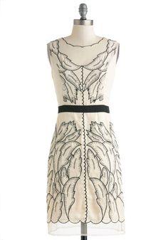 I'm a Be-Leaf-er Dress, #ModCloth