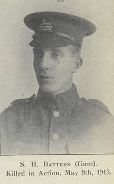 S Batters: one of the many men from our York factory who gave their lives in the First World War.