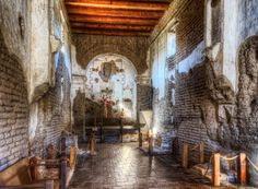 Mission San José de Tumacácori is a historic Catholic Spanish mission preserved in its present form by Franciscans in The church is located in southern Arizona near the town of Tubac. The architectural style of the church is Spanish Colonial. Green Valley, Spanish Colonial, Catholic, Arizona, Photograph, Architecture, San Jose, Photography, Arquitetura