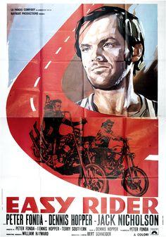 """""""Easy Rider"""" (1969) / Director: Dennis Hopper / Writers: Peter Fonda, Dennis Hopper / Stars: Peter Fonda, Dennis Hopper, Antonio Mendoza #poster"""