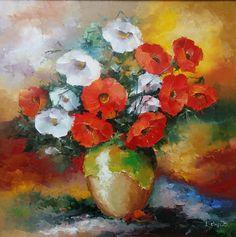 Ei, poftim! Da' câtă culoare se poate pune dom'le într-un tablou? 😅 Catio, Pune, Painting, Art, Art Background, Painting Art, Kunst, Paintings, Performing Arts