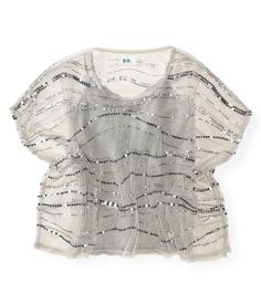 Kids' Sequin Mesh Poncho - PS From Aeropostale