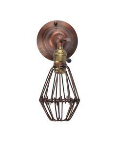 Rétro Antique Cru Style Industriel Lampe Murale Applique - Cône ...